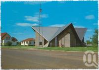 """<span class=""""caption-caption"""">St Albans Church of England, Cunnamulla</span>, c1970-2000. <br />Postcard, collection of <span class=""""caption-contributor"""">Murray Views Collection</span>."""