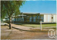"""<span class=""""caption-caption"""">Court House, Cunnamulla</span>, c1970-2000. <br />Postcard, collection of <span class=""""caption-contributor"""">Murray Views Collection</span>."""