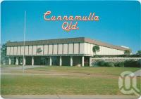 """<span class=""""caption-caption"""">Shire Hall, Jane Street, Cunnamulla</span>, c1970-2000. <br />Postcard, collection of <span class=""""caption-contributor"""">Murray Views Collection</span>."""