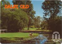 "<span class=""caption-caption"">Thomas Jack Memorial Park, Dalby</span>, c1970-2000. <br />Postcard, collection of <span class=""caption-contributor"">Murray Views Collection</span>."