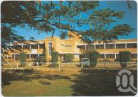 "<span class=""caption-caption"">Emerald General Hospital</span>, c1970-2000. <br />Postcard, collection of <span class=""caption-contributor"">Murray Views Collection</span>."
