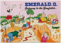 "<span class=""caption-caption"">Emerald, Gateway to the Gemfields</span>, c1970-2000. <br />Postcard, collection of <span class=""caption-contributor"">Murray Views Collection</span>."