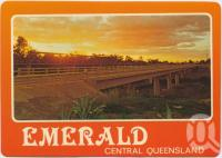 "<span class=""caption-caption"">Vince Lester Bridge, Emerald</span>, c1970-2000. <br />Postcard, collection of <span class=""caption-contributor"">Murray Views Collection</span>."