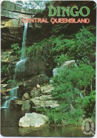 "<span class=""caption-caption"">Rainbow Falls, Dingo's National Park, The Blackdown Tableland</span>, c1970-2000. <br />Postcard, collection of <span class=""caption-contributor"">Murray Views Collection</span>."
