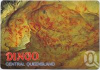 "<span class=""caption-caption"">Dingo's National Park, The Blackdown Tablelands, Aboriginal Art</span>, c1970-2000. <br />Postcard, collection of <span class=""caption-contributor"">Murray Views Collection</span>."