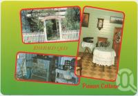 "<span class=""caption-caption"">Pioneer Cottage, Entrance, Parlour, Kitchen, Emerald</span>, c1970-2000. <br />Postcard, collection of <span class=""caption-contributor"">Murray Views Collection</span>."