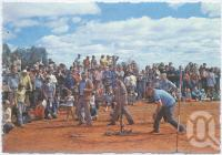 """<span class=""""caption-caption"""">The Eulo Lizard Race, main feature of the Cunnamulla-Eulo """"Festival of Opals"""" held annually in mid-August</span>, c1970-2000. <br />Postcard, collection of <span class=""""caption-contributor"""">Murray Views Collection</span>."""