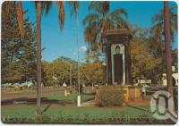 "<span class=""caption-caption"">Memorial Gardens, Esk</span>, c1970-2000. <br />Postcard, collection of <span class=""caption-contributor"">Murray Views Collection</span>."
