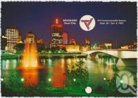 """<span class=""""caption-caption"""">Brisbane, Host City Commonwealth Games 1982</span>, c1970-2000. <br />Postcard, collection of <span class=""""caption-contributor"""">Murray Views Collection</span>."""