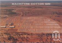 "<span class=""caption-caption"">Macintyre Cotton Gin, Goondiwindi</span>, c1970-2000. <br />Postcard, collection of <span class=""caption-contributor"">Murray Views Collection</span>."