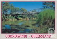 "<span class=""caption-caption"">Border Bridge, McIntyre River, Goondiwindi</span>, c1970-2000. <br />Postcard, collection of <span class=""caption-contributor"">Murray Views Collection</span>."