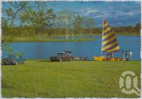 "<span class=""caption-caption"">Lake Clarendon, a popular picnic area, is a flora and fauna reserve, Gatton</span>, c1970-2000. <br />Postcard, collection of <span class=""caption-contributor"">Murray Views Collection</span>."