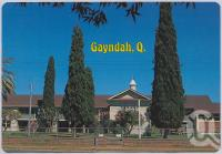 "<span class=""caption-caption"">Gayndah State School officially opened in 1863</span>, c1970-2000. <br />Postcard, collection of <span class=""caption-contributor"">Murray Views Collection</span>."