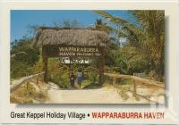 "<span class=""caption-caption"">Wapparaburra Haven, Great Keppel Island Holiday Village, Great Keppel Island</span>, c1970-2000. <br />Postcard, collection of <span class=""caption-contributor"">Murray Views Collection</span>."