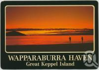 "<span class=""caption-caption"">Wapparaburra Haven, Great Keppel Island</span>, c1970-2000. <br />Postcard, collection of <span class=""caption-contributor"">Murray Views Collection</span>."