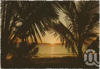 "<span class=""caption-caption"">Sunset, Great Keppel Island</span>, c1970-2000. <br />Postcard, collection of <span class=""caption-contributor"">Murray Views Collection</span>."