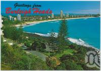 "<span class=""caption-caption"">Burleigh Heads, looking north</span>, c1970-2000. <br />Postcard, collection of <span class=""caption-contributor"">Murray Views Collection</span>."