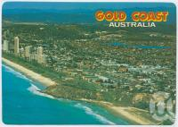 "<span class=""caption-caption"">Aerial view looking south from North Burleigh towards the hinterland showing the Air-Sea Rescue Base</span>, c1970-2000. <br />Postcard, collection of <span class=""caption-contributor"">Murray Views Collection</span>."