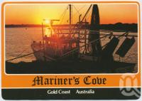 "<span class=""caption-caption"">Trawler docked for the night, Mariner's Cove</span>, c1970-2000. <br />Postcard, collection of <span class=""caption-contributor"">Murray Views Collection</span>."