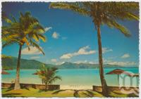 "<span class=""caption-caption"">Front Lawn, Royal Hayman Island</span>, c1970-2000. <br />Postcard, collection of <span class=""caption-contributor"">Murray Views Collection</span>."