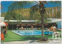 "<span class=""caption-caption"">Pool area, Royal Hayman Hotel, Hayman Island</span>, c1970-2000. <br />Postcard, collection of <span class=""caption-contributor"">Murray Views Collection</span>."