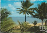"<span class=""caption-caption"">Langford Island, lagoon and lawns from Royal Hayman Hotel, Hayman Island</span>, c1970-2000. <br />Postcard, collection of <span class=""caption-contributor"">Murray Views Collection</span>."
