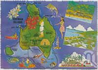 "<span class=""caption-caption"">Map Hayman Island</span>, c1970-2000. <br />Postcard, collection of <span class=""caption-contributor"">Murray Views Collection</span>."
