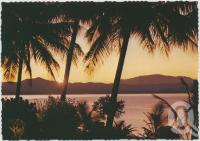 "<span class=""caption-caption"">Sunrise, Hayman Island</span>, c1970-2000. <br />Postcard, collection of <span class=""caption-contributor"">Murray Views Collection</span>."