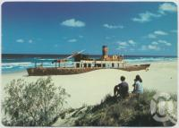 "<span class=""caption-caption"">""Cherry Venture"", Rainbow Beach</span>, c1970-2000. <br />Postcard, collection of <span class=""caption-contributor"">Murray Views Collection</span>."