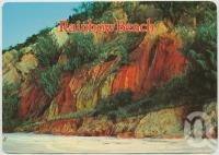 "<span class=""caption-caption"">Coloured Sand Cliffs, Rainbow Beach</span>, c1970-2000. <br />Postcard, collection of <span class=""caption-contributor"">Murray Views Collection</span>."