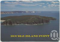 "<span class=""caption-caption"">Aerial view of Double Island Point looking toward Rainbow Beach</span>, c1970-2000. <br />Postcard, collection of <span class=""caption-contributor"">Murray Views Collection</span>."