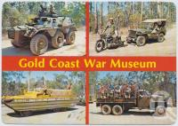 "<span class=""caption-caption"">War Museum, Springbrook Road Mudgeeraba, Gold Coast Hinterland</span>, c1970-2000. <br />Postcard, collection of <span class=""caption-contributor"">Murray Views Collection</span>."