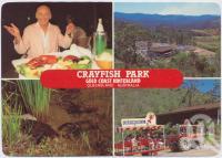 "<span class=""caption-caption"">Crayfish Park, Gold Coast Hinterland, Australia's largest crayfish park</span>, c1970-2000. <br />Postcard, collection of <span class=""caption-contributor"">Murray Views Collection</span>."