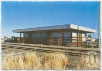 "<span class=""caption-caption"">Railway Station, Julia Creek</span>, c1970-2000. <br />Postcard, collection of <span class=""caption-contributor"">Murray Views Collection</span>."