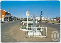 "<span class=""caption-caption"">Main street war memorial, Julia Creek</span>, c1970-2000. <br />Postcard, collection of <span class=""caption-contributor"">Murray Views Collection</span>."