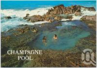 "<span class=""caption-caption"">The Champagne Pool, Fraser Island</span>, c1970-2000. <br />Postcard, collection of <span class=""caption-contributor"">Murray Views Collection</span>."