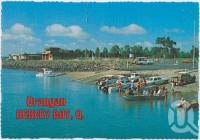 "<span class=""caption-caption"">The Boat Ramp at Urangan showing Hervey Bay Boat Club and Air-Sea Rescue Buildings</span>, c1970-2000. <br />Postcard, collection of <span class=""caption-contributor"">Murray Views Collection</span>."