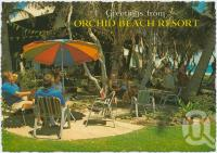"<span class=""caption-caption"">Orchid Beach Resort, Fraser Island</span>, c1970-2000. <br />Postcard, collection of <span class=""caption-contributor"">Murray Views Collection</span>."
