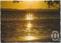 "<span class=""caption-caption"">Sunrise, Urangan Pier</span>, c1970-2000. <br />Postcard, collection of <span class=""caption-contributor"">Murray Views Collection</span>."