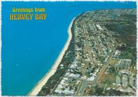 "<span class=""caption-caption"">Aerial view of Torquay looking south toward Urangan</span>, c1970-2000. <br />Postcard, collection of <span class=""caption-contributor"">Murray Views Collection</span>."