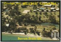 "<span class=""caption-caption"">Hillcrest Caravan Park, Burrum Heads</span>, c1970-2000. <br />Postcard, collection of <span class=""caption-contributor"">Murray Views Collection</span>."