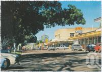 "<span class=""caption-caption"">Set in parkland, Scarness Shopping Centre is adjacent to the beach, Scarness</span>, c1970-2000. <br />Postcard, collection of <span class=""caption-contributor"">Murray Views Collection</span>."