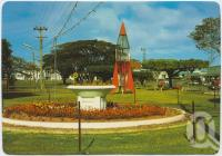 "<span class=""caption-caption"">The gardens in the centre of Lannercost Street, showing the children's playground, Ingham</span>, c1970-2000. <br />Postcard, collection of <span class=""caption-contributor"">Murray Views Collection</span>."