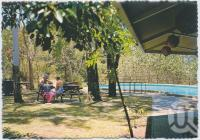 "<span class=""caption-caption"">Recreation area and pool, Hinchinbrook Island</span>, c1970-2000. <br />Postcard, collection of <span class=""caption-contributor"">Murray Views Collection</span>."