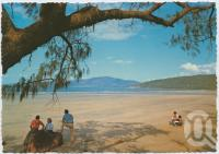 """<span class=""""caption-caption"""">Shepherd Bay, only half an hour walk from the resort, Hinchinbrook Island</span>, c1970-2000. <br />Postcard, collection of <span class=""""caption-contributor"""">Murray Views Collection</span>."""