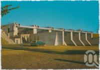 "<span class=""caption-caption"">Coolmunda Dam, with a capacity of 75 455 megalitres, irrigates properties up to 42 km away, Inglewood</span>, c1970-2000. <br />Postcard, collection of <span class=""caption-contributor"">Murray Views Collection</span>."