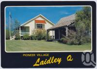"<span class=""caption-caption"">Laidley Pioneer Village, Drayton Street, Laidley</span>, c1970-2000. <br />Postcard, collection of <span class=""caption-contributor"">Murray Views Collection</span>."