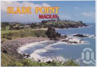 """<span class=""""caption-caption"""">Looking north from the lookout, Slade Point is one of Mackay's favourite northern beach resorts</span>, c1970-2000. <br />Postcard, collection of <span class=""""caption-contributor"""">Murray Views Collection</span>."""