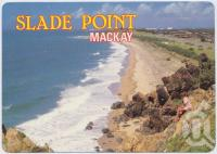"""<span class=""""caption-caption"""">Looking south from the lookout towards Mackay Harbour, Slade Point</span>, c1970-2000. <br />Postcard, collection of <span class=""""caption-contributor"""">Murray Views Collection</span>."""