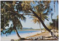 "<span class=""caption-caption"">Beautiful Seaforth Beach is just 30 minutes drive north of Mackay</span>, c1970-2000. <br />Postcard, collection of <span class=""caption-contributor"">Murray Views Collection</span>."